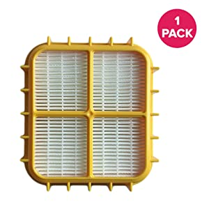 Think Crucial Replacement for Eureka HF-10 HEPA Filter Fits 8800, 8850 & 8900 Series, Compatible With Part # 63347, 633489, 67810-2, H14017 & 63358