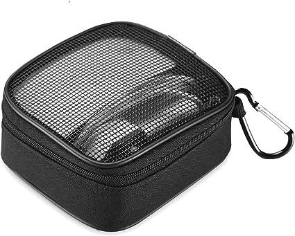 Estuche de Adaptador de Alimentación MacBook Organizador de Accesorios, Bolsa de Transporte de Almacenamiento Portátil para MacBook Cargador,Magic Mouse, Auriculares y Disco Flash USB -Negro: Amazon.es: Electrónica