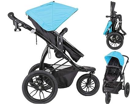 Papilioshop Manta – Cochecito ligero para niños y bebés ideal para caminar, hacer senderismo, deporte, jogging de montaña, correr, ir a la playa, ...