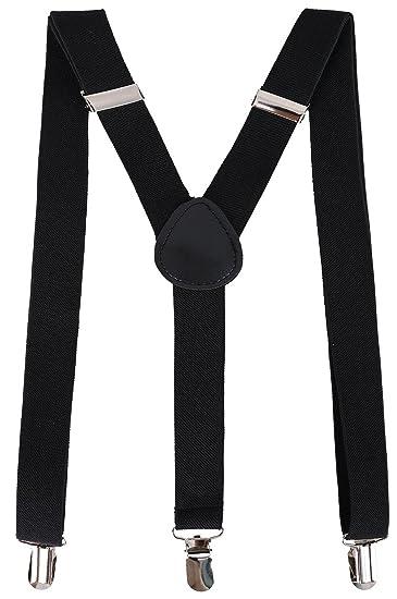 a3ab36e0a02 Men Classic Dapper Metal Clasp Clip Suspenders