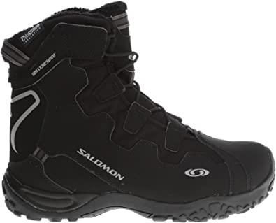 SALOMON Men's Snowtrip TS Waterproof Winter Shoe,BlackBlack