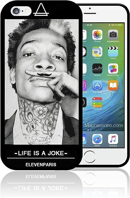 Coque iPhone et Samsung Wiz Khalifa Eleven Paris Moustache Life is ...
