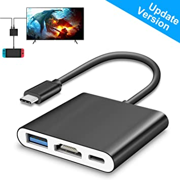 FastSnail Mini Dock - Adaptador HDMI para Nintendo Switch, HDMI ...