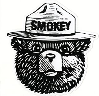 product image for Keen Smokey The Bear Vinyl Decal Sticker|Cars Trucks Vans Walls Laptops|Full Color|4.5 in|KCD756