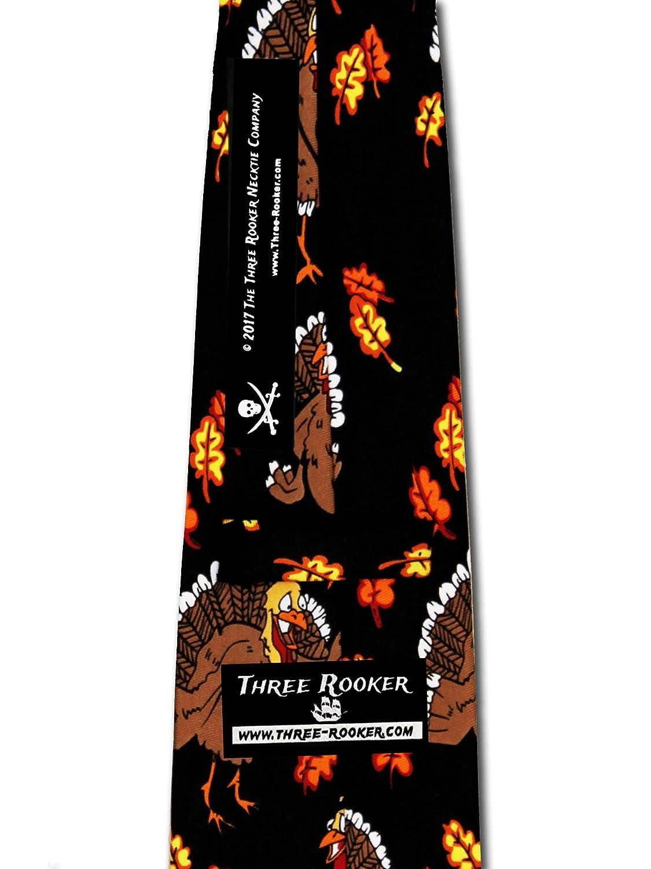 amazon com thanksgiving ties turkeys neckties clothing