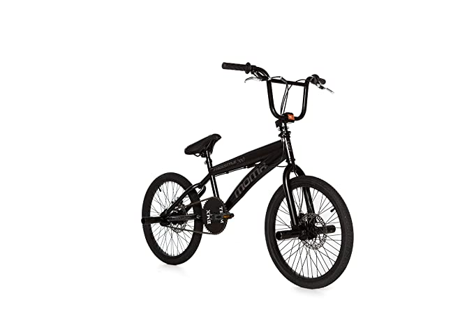 Reposapies Kid Pegs Deslizaderas de Aluminio 24Tx26T para Bicicleta BMX 3150negr