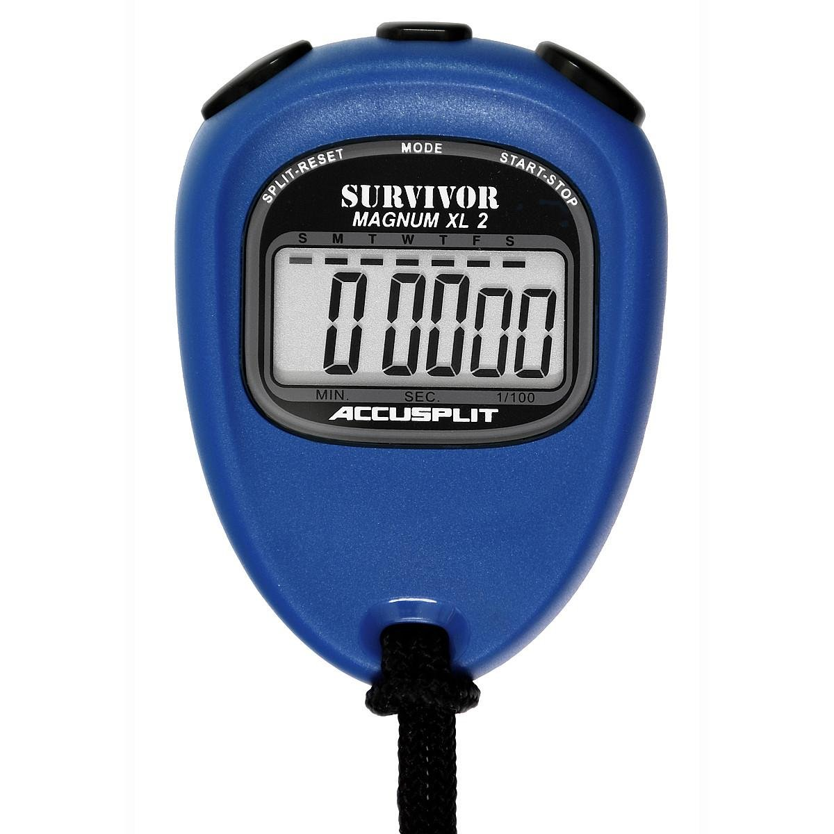 ACCUSPLIT New Survivor 2 - Blue New Survivor SX 2 Series Stopwatch