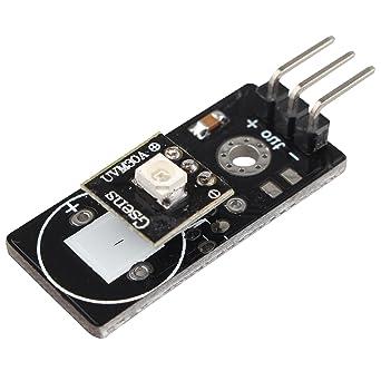 Detector de sensor UV para detección de rayos ultravioleta CC 3 ~ 5 V para Arduino