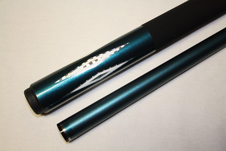 Cuetec Aquaブルーダイヤモンドモデル192ビリヤードプールキュースティック~ 18 oz