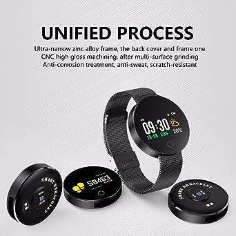 MOREFINE Bluetooth Reloj inteligente Rastreador de actividad de ...