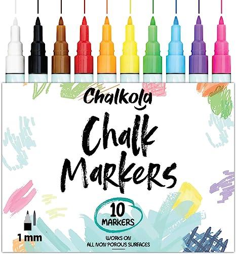 Glass, Chalk Markers For Chalkboard,Whiteboard,Window,Bistro Wet Wipe Erasable