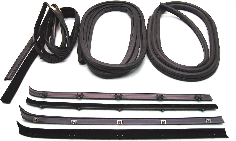Fairchild Industries New Weatherstrip Kits Set of 8 Driver /& Passenger Side