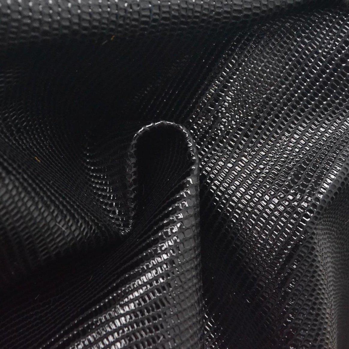 ファッションレザーCalf非表示8.2 SQ FTオニキスブラック2 oz Reptile Embossed - 11 B07FBB8KXX