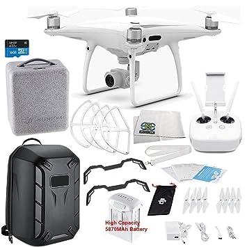 Amazon.com: DJI Phantom 4 PRO Quadcopter Starters Hardshell ...