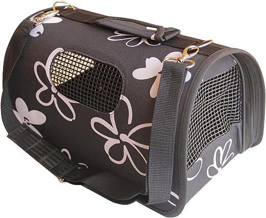 BPS (R) Portador Transportín Bolsa Bolso de Tela para Perro, Gato, Mascotas, Animales,Tamaño: L,51x26x29cm BPS-2120-2 (Negro): Amazon.es: Productos para mascotas