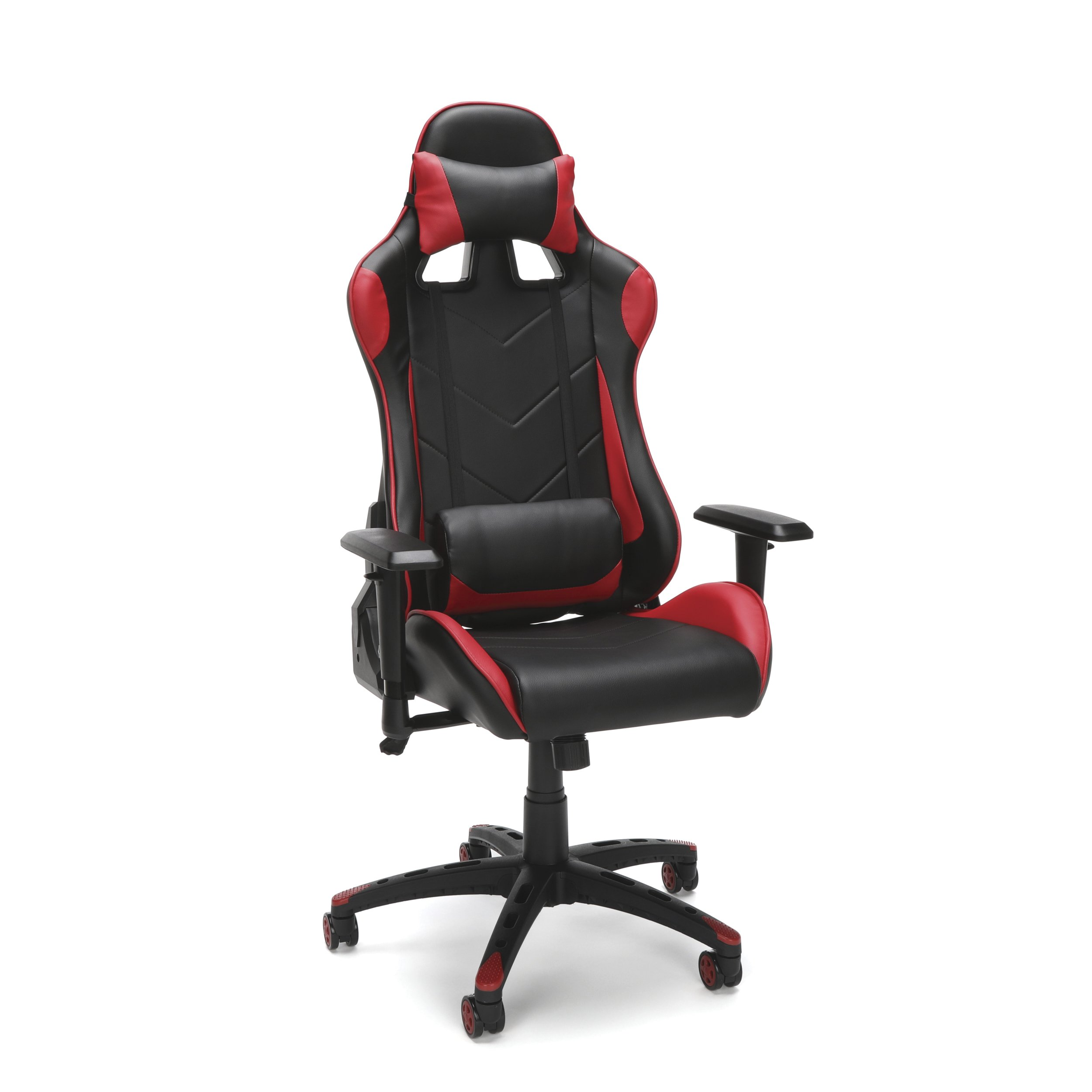 Essentials Racing Style Gaming Chair, Red,(ESS-6066-RED)
