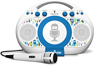 Singing Machine ISM398BT Karaoke System Home,White