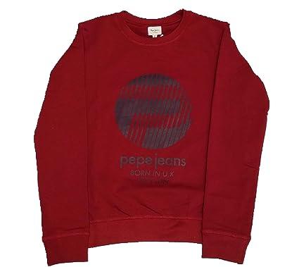 Pepe Jeans - Lotus Red - Sudadera Granate NIÑO (4 AÑOS)
