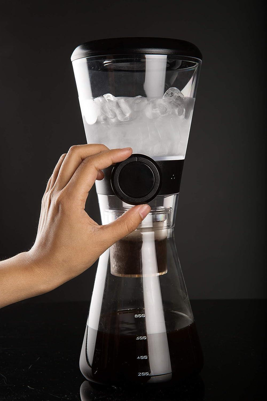CoCo Brew Cold Drip macchina da caffè, Vetro, 800ML, colore: bianco, COCO02-WEISS