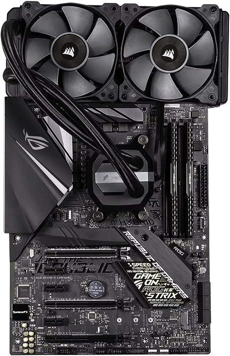 3 x S ryzen 5 Bundle overclocké, AMD ryzen 5 2600, Juego ASUS ROG Strix b450-f, 16 GB DDR4, Corsair H100 x: Amazon.es: Informática