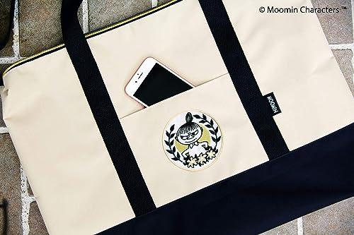 MOOMIN 2WAY BIG BAG BOOK BLACK 画像 D