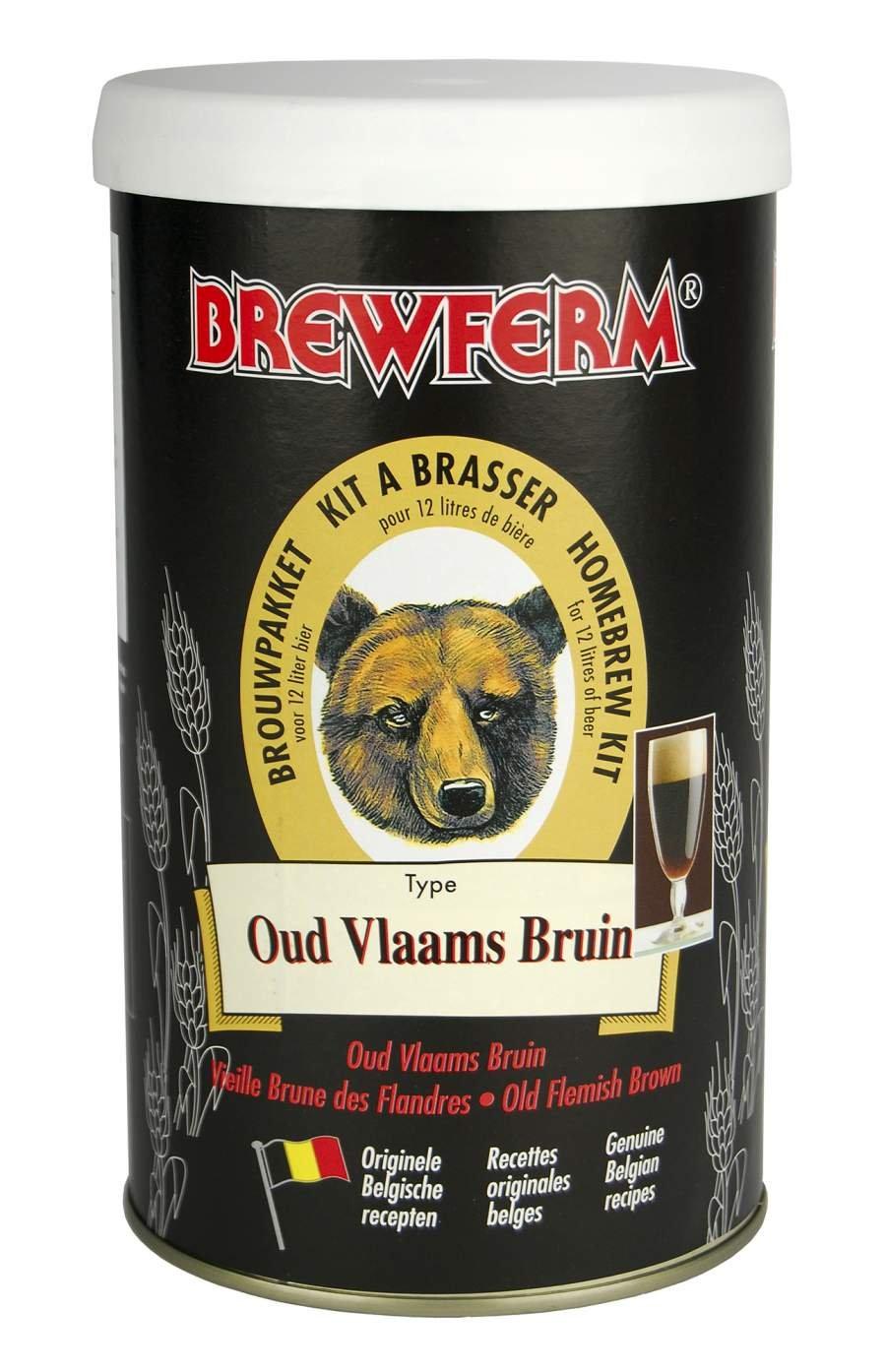 Brewferm 1, 5kg Altflämisch Braun Bierkit zum Bier brauen 056.065.5