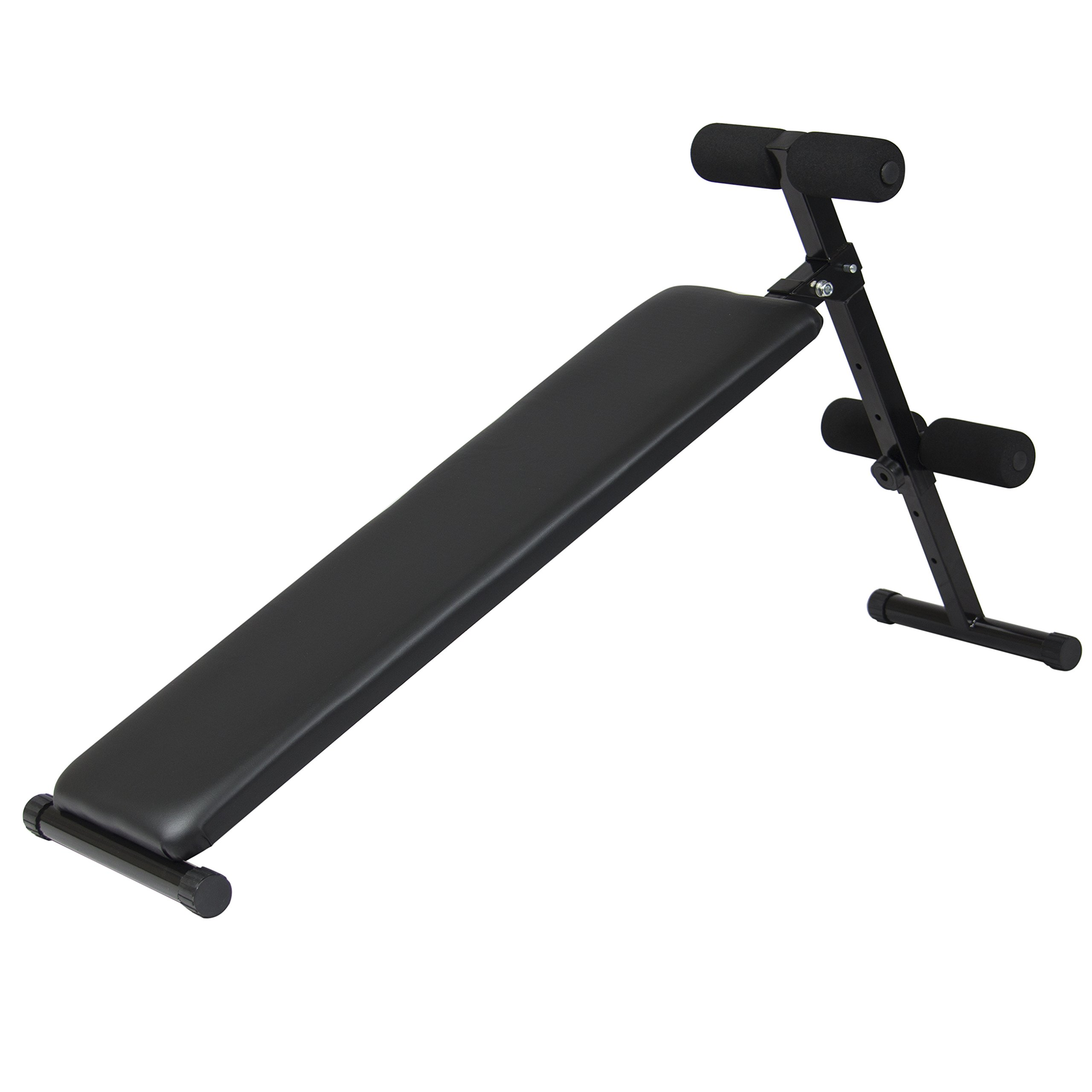 Best Choice Products Adjustable Decline Bench Crunch Board Fitness Home Gym