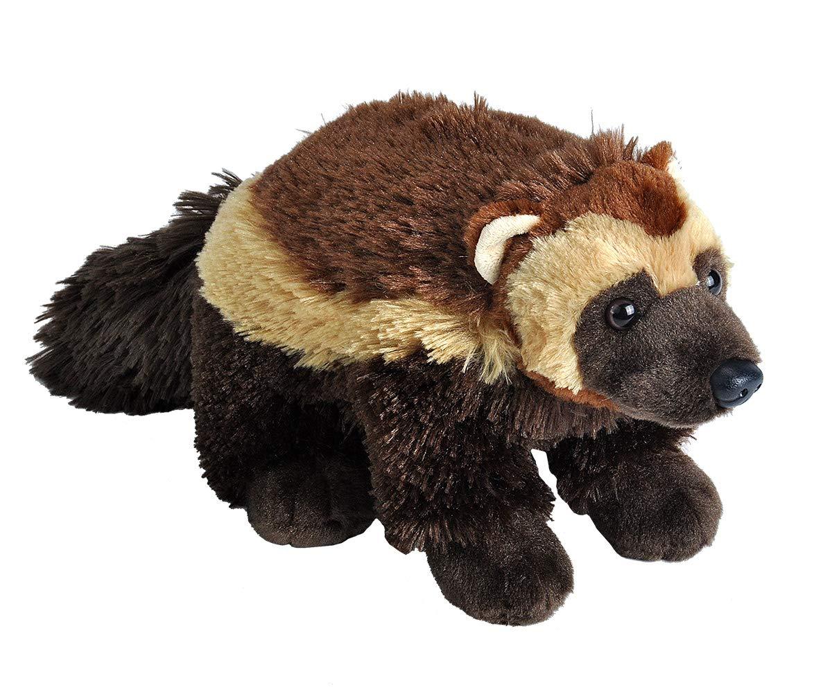 Wild Republic Wolverine Plush, Stuffed Animal, Plush Toy, Gifts for Kids, Cuddlekins 12 Inches, Multicolor
