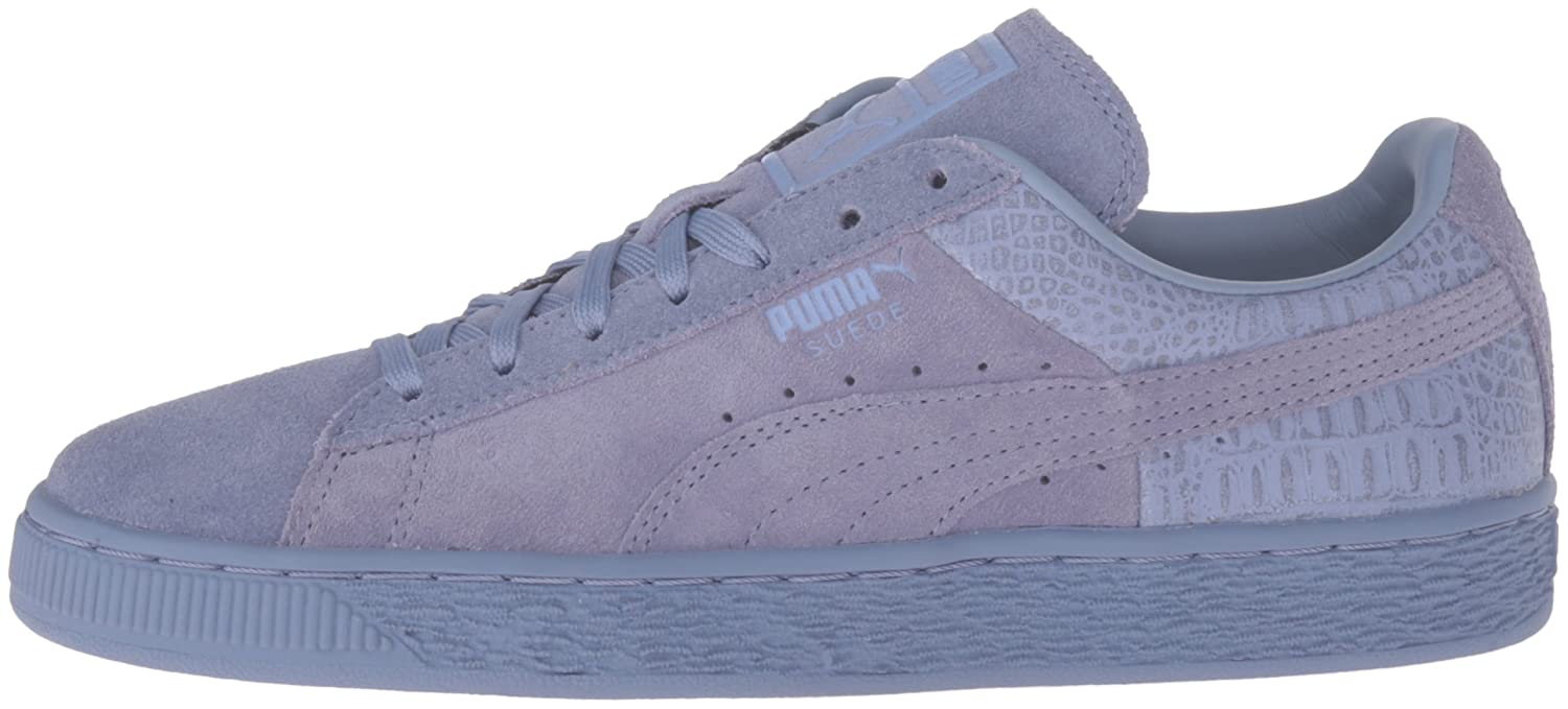 PUMA Women's Suede Classic Emboss WN's Fashion Sneaker B01A84IF3Q 9 M US|Tempest