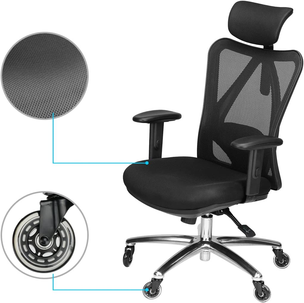 71Cy0wdp41L. AC SL1200 - What Are The Best Office Chair For Lower Back Pain Under $300 - ChairPicks