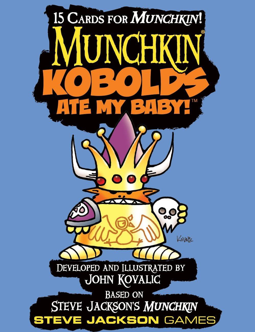 Steve Jackson Games Munchkin Kobolds Ate My Baby Booster Pack – Juego de Tarjeta de D10: Amazon.es: Juguetes y juegos