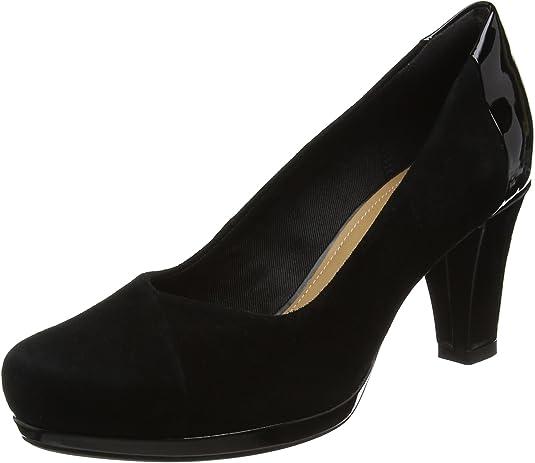 TALLA 35.5 EU. Clarks Chorus Carol, Zapatos de Tacón para Mujer