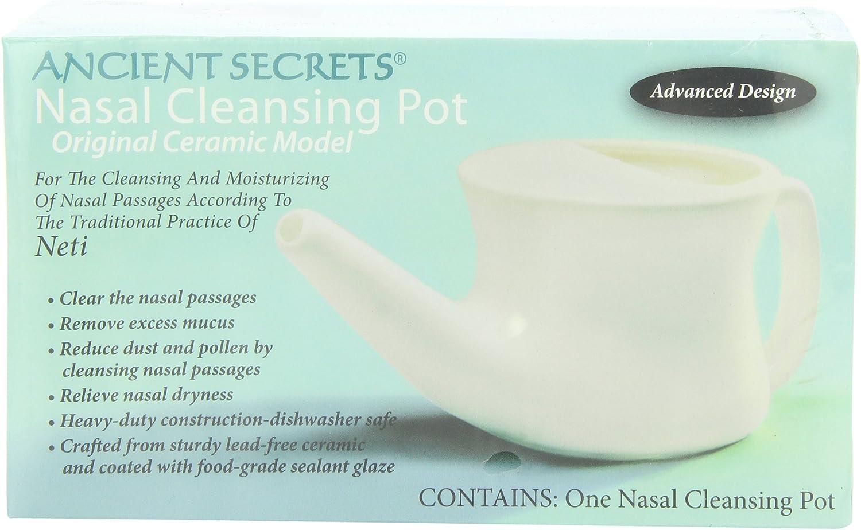 Amazon.com: Ancient Secrets - Olla de cerámica para limpieza ...