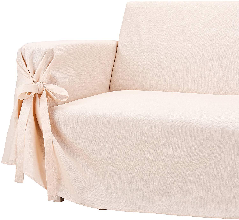 HomeLife - Cubre sofá de 3 plazas - Elegante Protector de ...