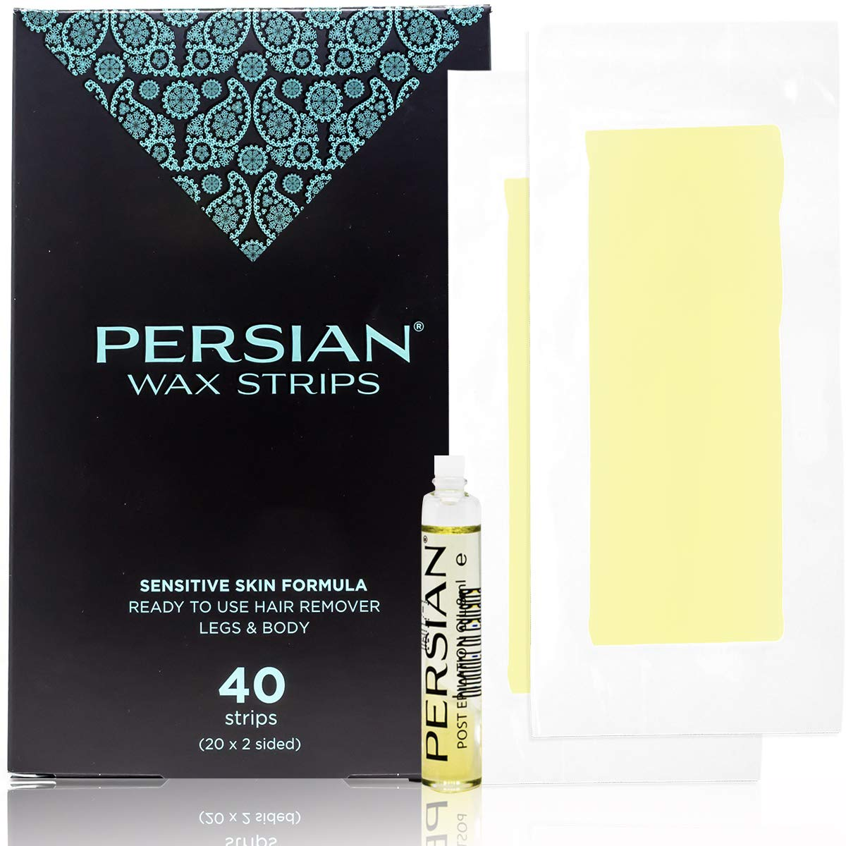 Amazon Com Legs Body Wax Strips 40 Strips Persian Hair