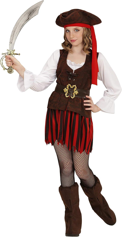 WIDMANN- Disfraz infantil de pirata, Multicolor, 128 (65636 ...