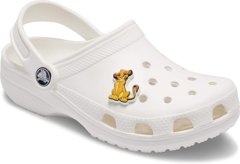 Crocs Lion King Simba Bijoux de chaussures Multicolore Taille unique -
