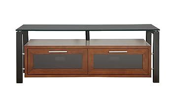 Amazon Com Plateau Decor 50 Wb Bg Wood And Glass Tv Stand 50 Inch