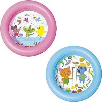 Bestway 51061 - Piscina Hinchable Infantil Kiddie 2-Anillos 61x15 cm , color/modelo surtido: Amazon.es: Juguetes y juegos