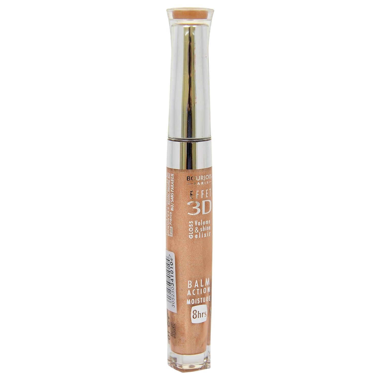 Amazon.com : Bourjois 3D Effet Lip Gloss for Women, 01 Beige Elastic, 0.19 Ounce : Beauty