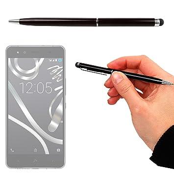 DURAGADGET Lápiz Stylus + Bolígrafo (2 En 1) para Smartphone BQ ...