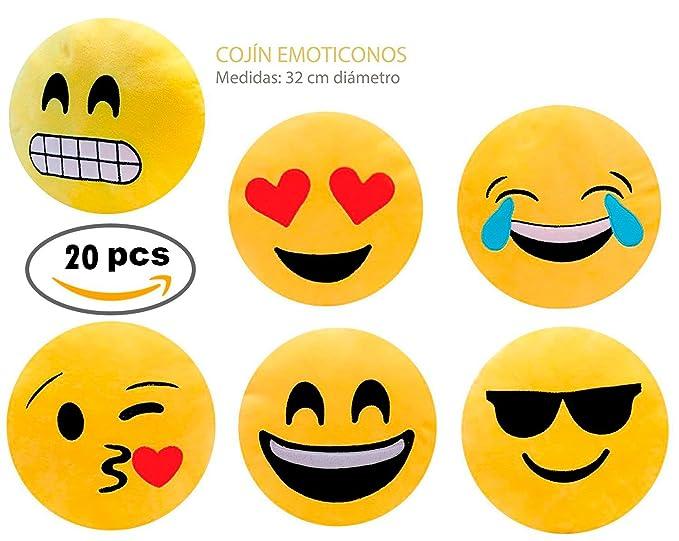 Lote de 20 Cojínes Emoticonos - Cojines Emoticonos Comprar ...