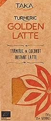 Taka Turmeric Organic Golden Turmeric and Coconut Instant Latte, 150 g