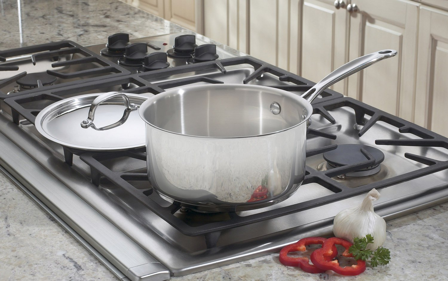 Cuisinart 7193-20 Chef s Classic Stainless 3-Quart Saucepan with Cover
