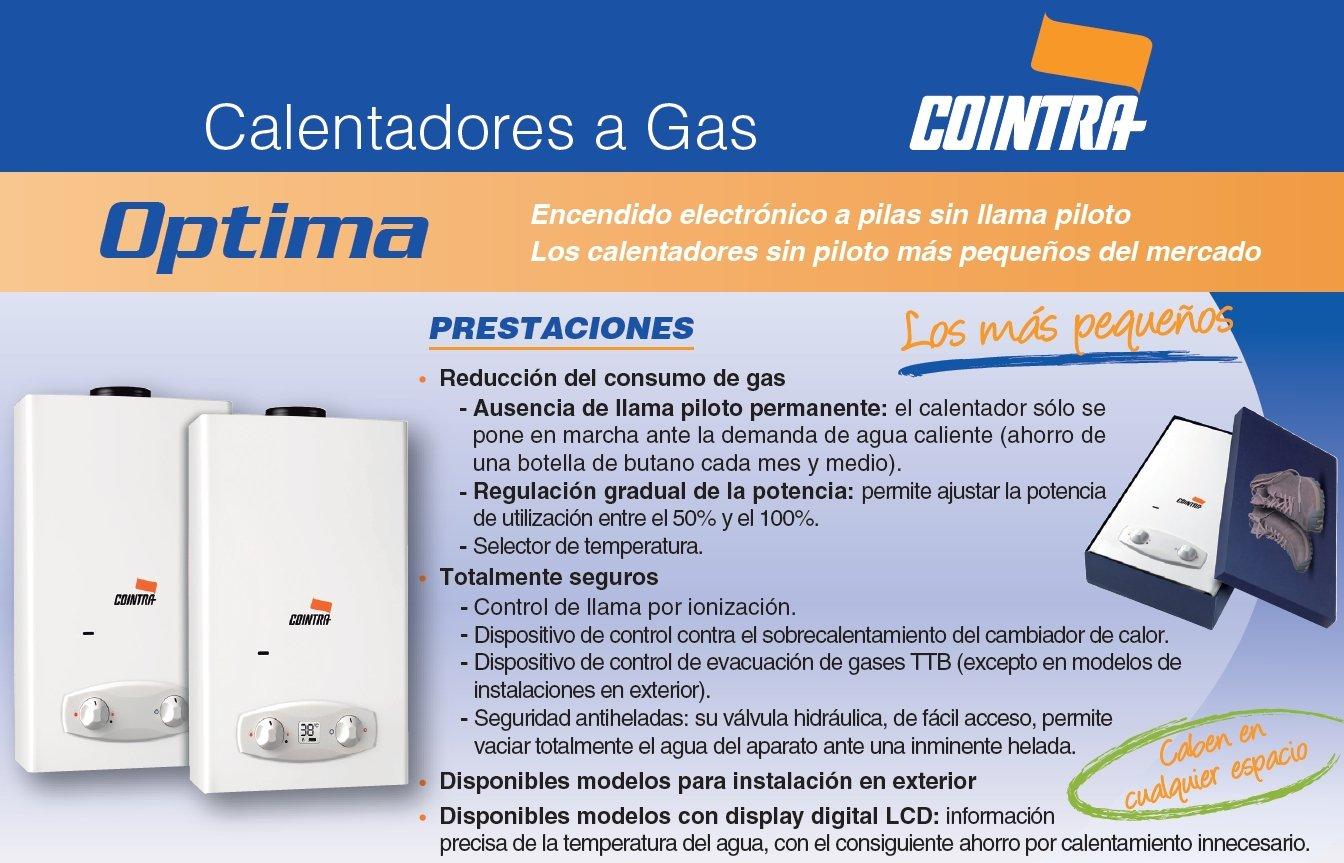 Cointra COB 14 n Vertical Depósito (almacenamiento de agua) Sistema de calentador único Blanco - Hervidor de agua (Vertical, Depósito (almacenamiento de ...
