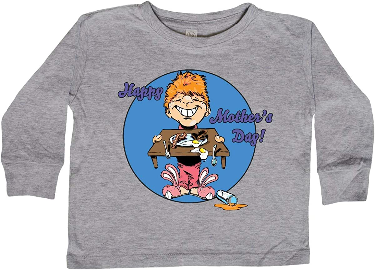 inktastic Happy Mothers Day Redhead Son with Toddler Long Sleeve T-Shirt