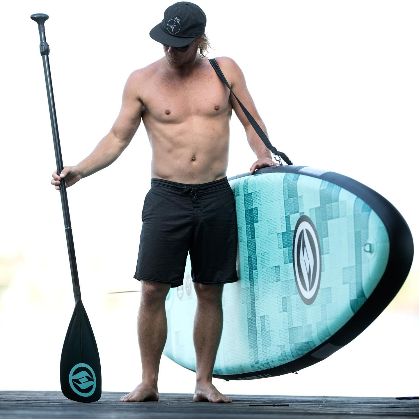 Amazon.com: Hyperlite Admiral inflable SUP paquete – 11 ...