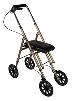Drive Medical Rolling Knee Walker Leg Ankle Foot Crutch Caddy Scooter Mobility Aids & Equipment at amazon