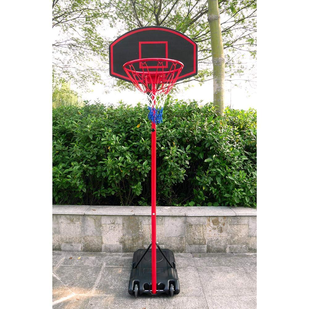 Bulary Black & Red Portable Removable Adjustable Teenager Basketball Rack by Bulary (Image #6)