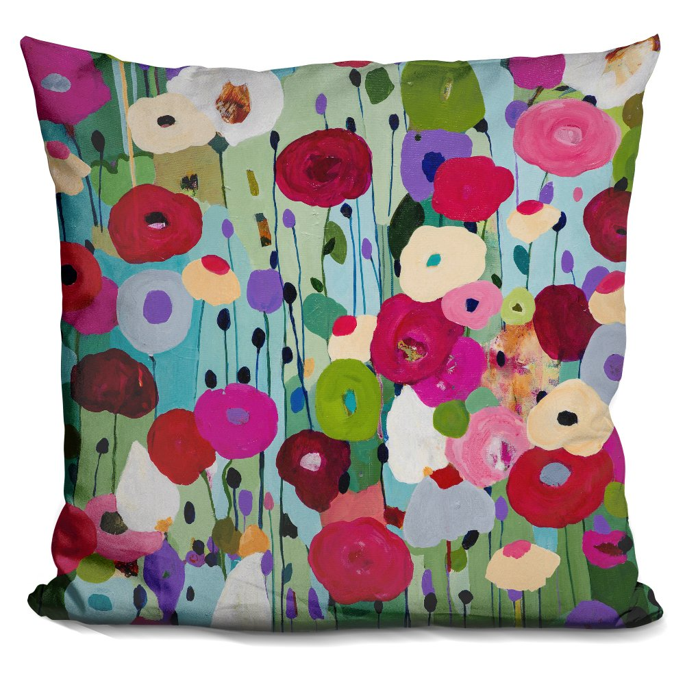 LiLiPi Making Wishes Decorative Accent Throw Pillow